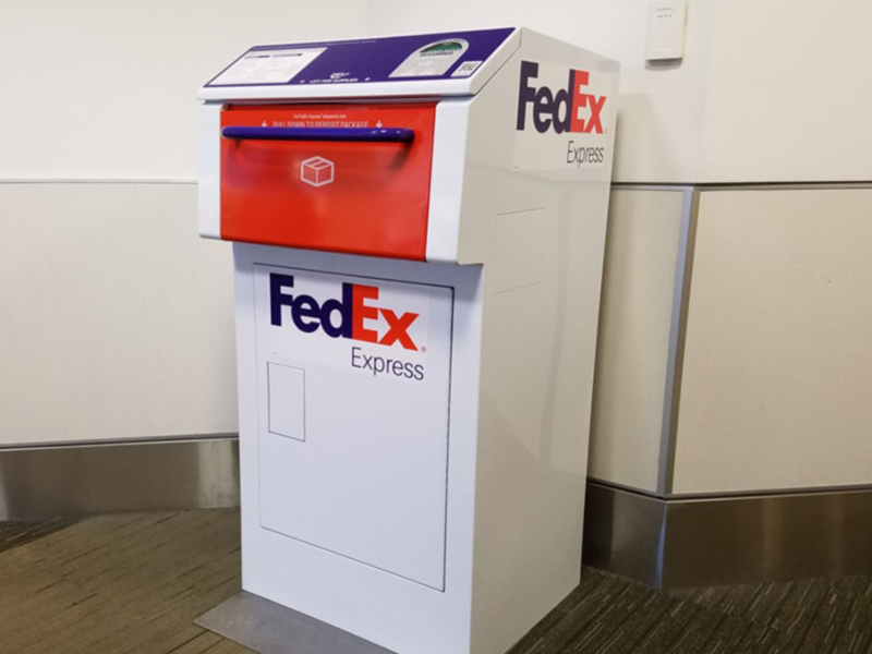 Federal Express Drop Box
