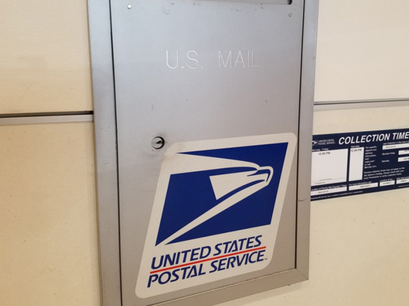 US Mail Drop