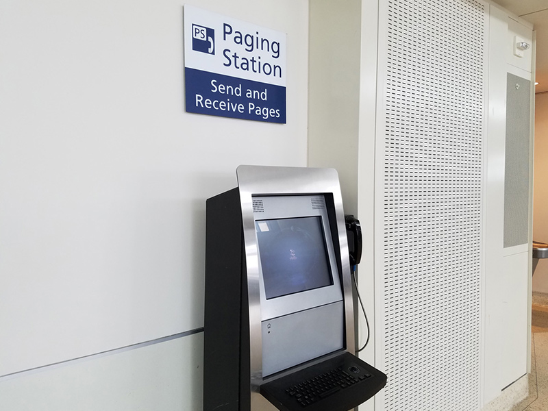 Image of Paging Stations