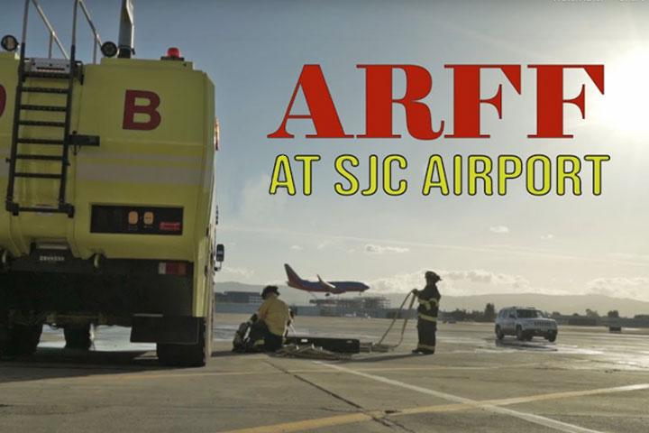 Image of ARFF at San Jose International Airport