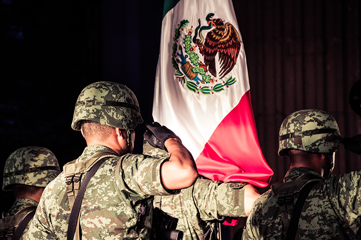 Mexican Soldiers at Independence Day Celebration.png