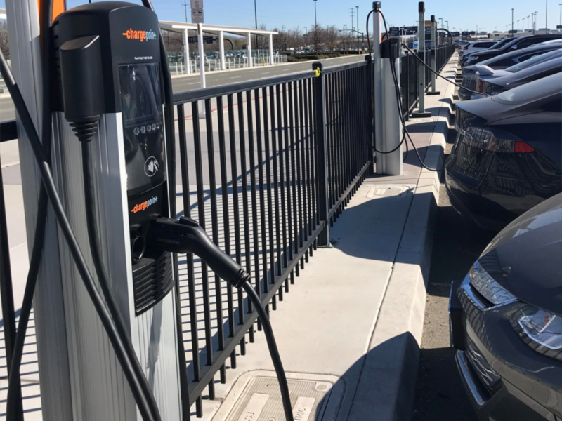 Image of Electrical Vehicle Charging Stations