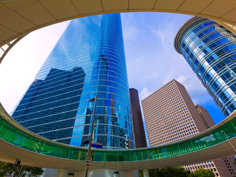Photo: High Rise Buildings in Houston