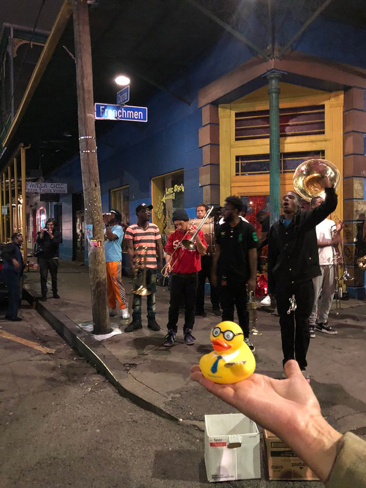 #SJCDuck-enjoying-live-music-on-Frenchman-Street-in-New-Orleans.jpg